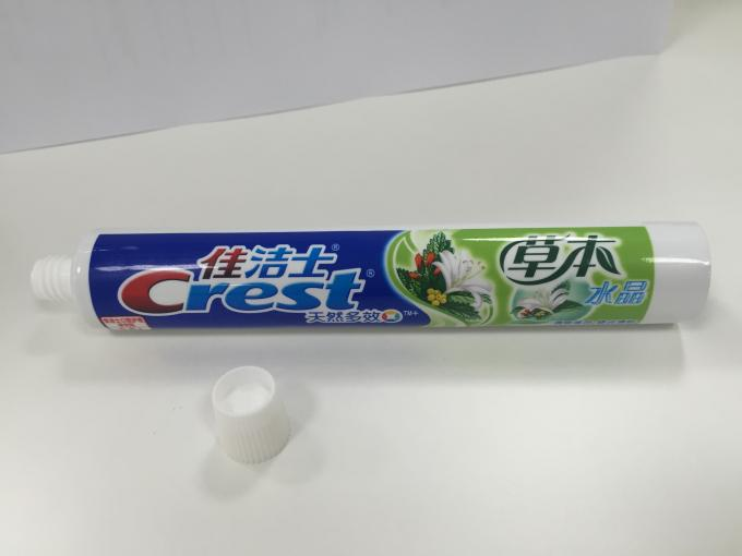 Gravure Printed 75ml ABL Laminated Round Tube With Screw Fez Cap