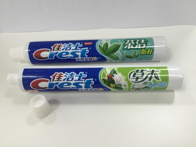 ABL Toothpaste laminated tube packaging material with printing and cap