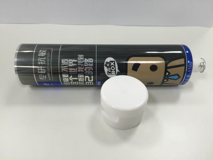 100g Printed Laminated Industrial Flexible Packaging Tube with ISO9001