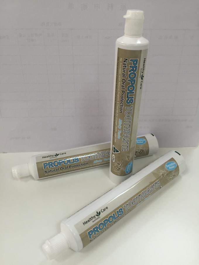100g Dia 30mm ABL Laminated Tube Toothpaste Packaging With Offset Printing