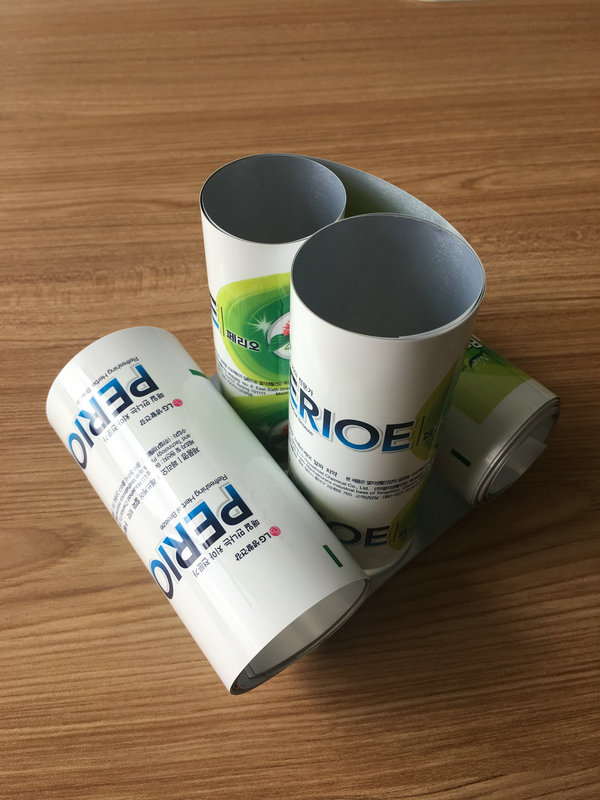 Offset Printing High Barrier Aluminum Plastic Laminated Tubes With ABL Film