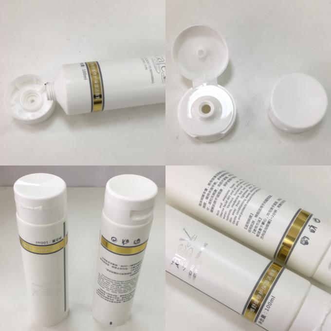 EVOH Barrier 375 Thickness Plastic Laminated Cosmetic Tube Packaging With Stamping