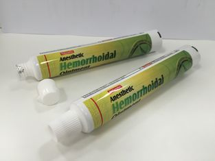 Aluminum Barrier Laminate Tube Packaging for toothpaste / pharmaceutical / cosmetic
