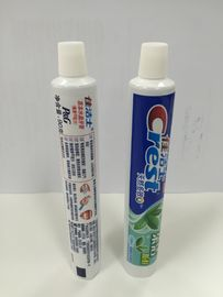 White Crest Toothpaste Laminate Tube Packaging With Gravure Printing
