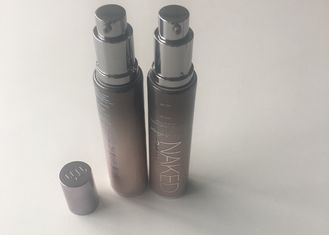 Packaging Plastic Cosmetic Containers With Airless Pump Aluminizing Barrier Laminated
