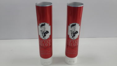 Aluminum Foil Cosmetic Packaging Tube With Flexible Printing , Screw On Cap