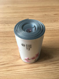 ABL Silver Effect Aluminum Plastic Laminated Tube Packaging With Silk Screen Printing