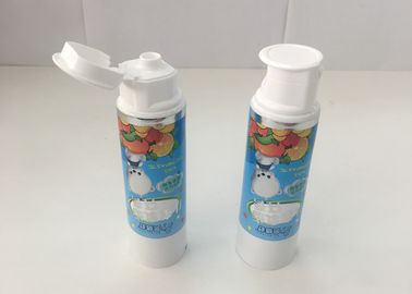 Laminated Children Toothpaste Tube With Customized Doctor Cap ABL250/12 Thickness