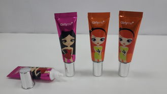 10g Eye Cream Packaging shiny CAL Cosmetic Tube With long shoulder,colorful printing diameter 19mm