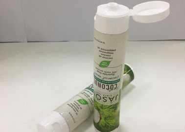 Offset Printing PBL350 Laminated Tubes With Flip Cap , Small Toothpaste Tubes