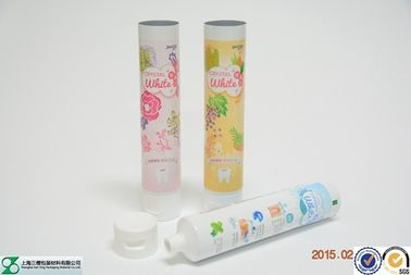 D35mm extruded aluminum tube with flip cap ABL tube packaging