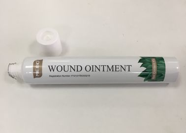 ABL275/20 Material GMP Standard Empty Laminated Tube Packaging For MEBO Wound Ointment