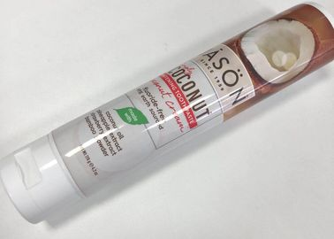 Flexo + Glossy Varnish Laminated Squeeze Tube PBL Material With EVOH As Barrier