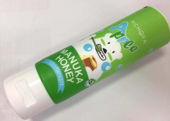 Special Matte Film D35*100mm PBL Laminated Tube For Kids Toothpaste Packaging