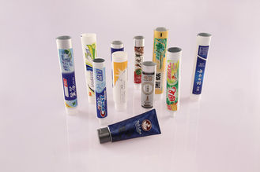 China Aluminum / Plastic Laminated Toothpaste Tube 65mm - 110mm Length Ф16 - Ф19 supplier