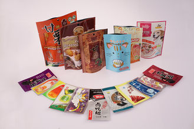 China Printed Plastic Snack Bag, PET / PE / AL / CPP Food Flexible Packaging supplier