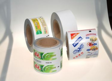 China ABL PBL APT Toothpaste Printed Laminated Web With Customized Width supplier