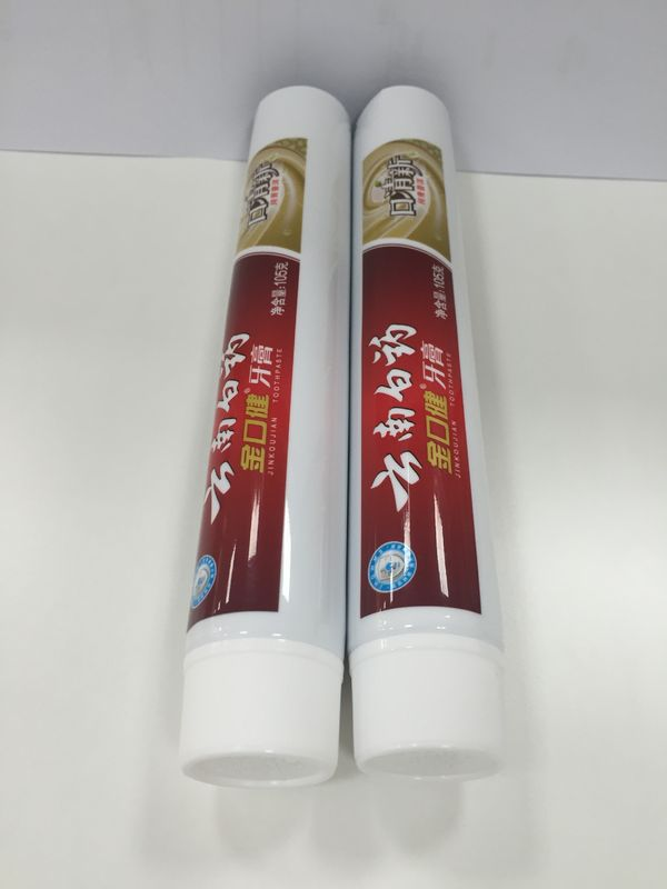 50g ABL Pharmaceutical Laminated Tube Packaging Material Silver Color