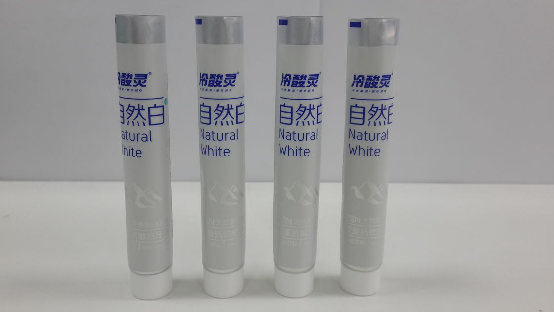 20g Small Diameter Toothpaste Packaging ABL Tube With smooth Cap 250/12