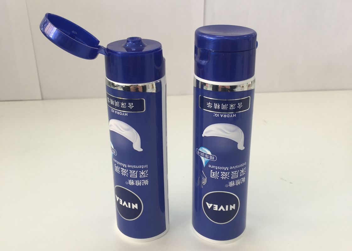 Cosmetic Hand Cream laminated plastic tubes Glossy Effect , D35*105mm