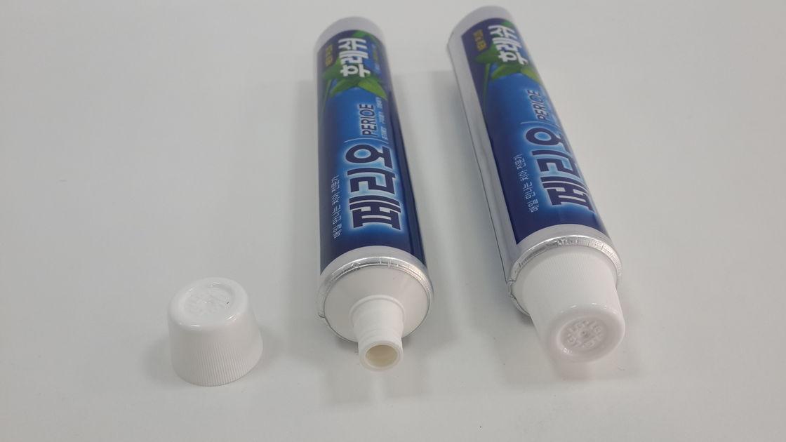 150g Flexography Printing Teeth Whitening Tube Aluminum Foil