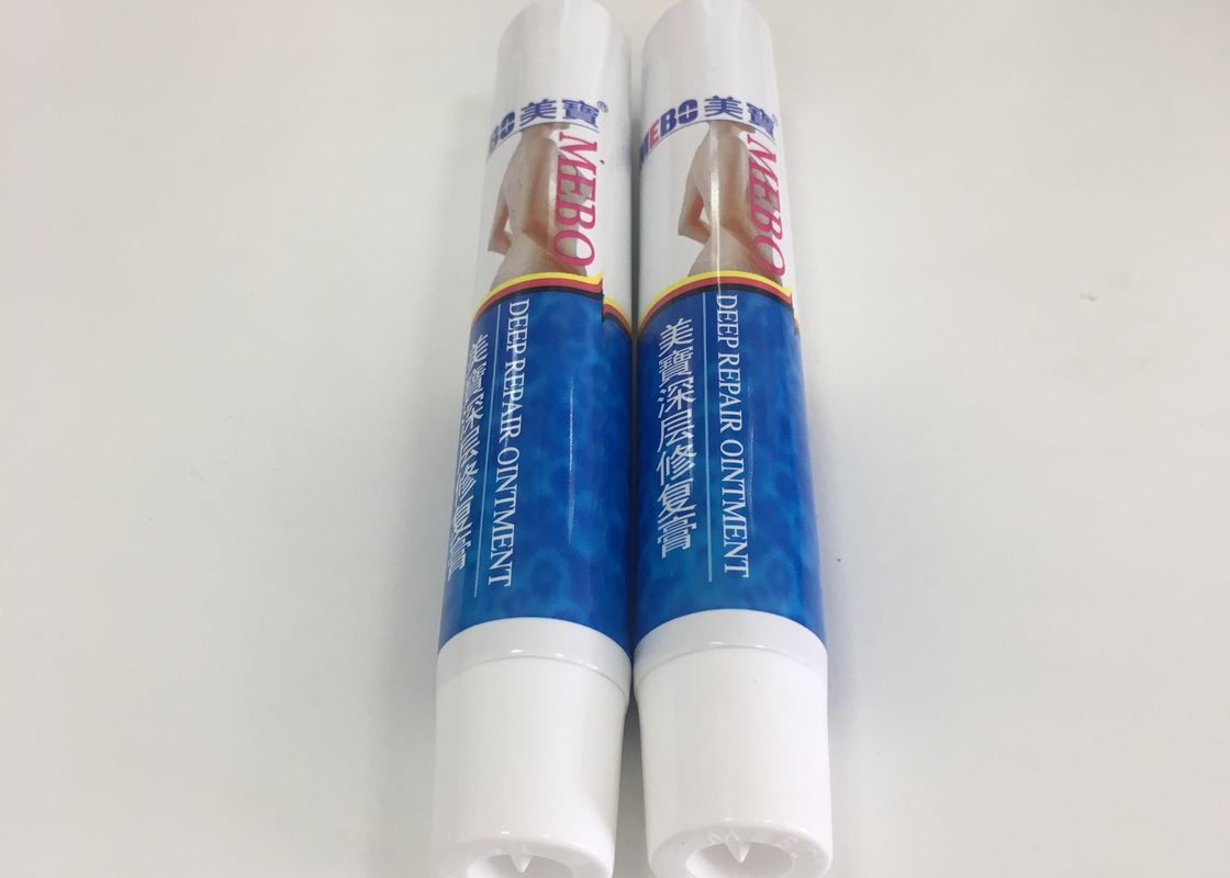 ABL275/20 Plastic Tube Packaging For Mebo Burn & Wound Ointment , DIA25*135mm