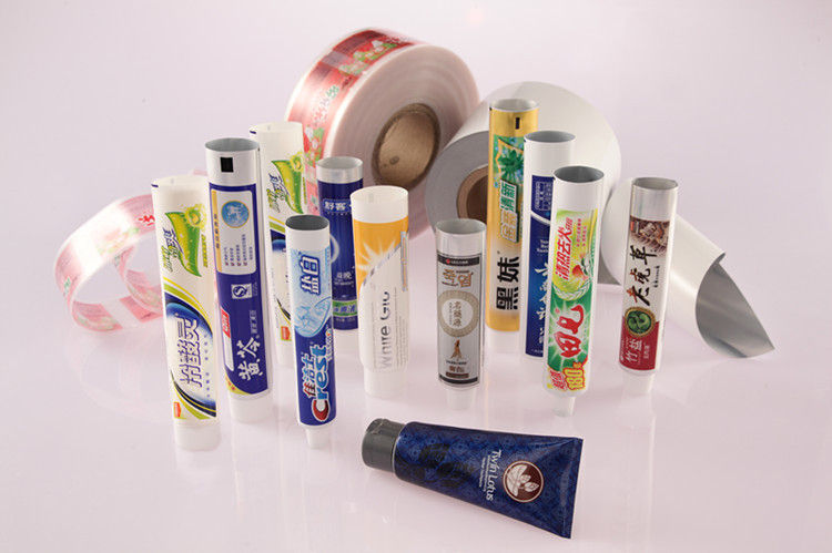 Ф34, Ф35, Ф38, Ф40 mm Toothpaste Tube, Customized Laminate Tube Packaging
