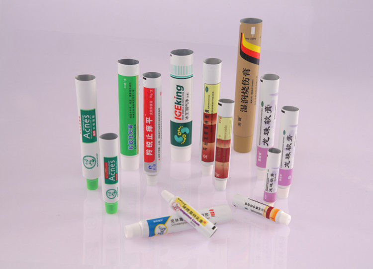 Flat Printing Pharmaceutical Cream Laminate Tube Packaging Customized