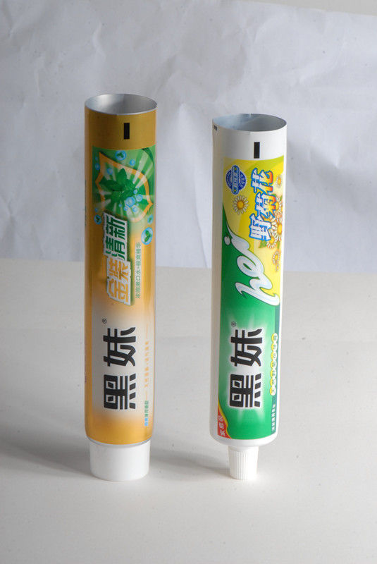 45mm - 70mm Length Toothpaste Tube, Aluminum Plastic Laminated Collapsible Packaging Tubes