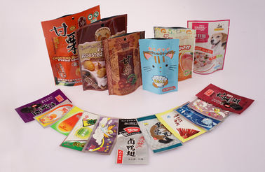 Frozen Vaccum Bread Packaging Bags Food Flexible Packaging For Meat Fish