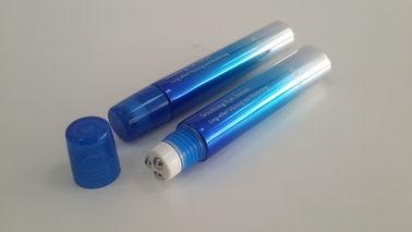 Metallic Three Roller Ball Tube for Eye Cream Packaging Diameter 19mm