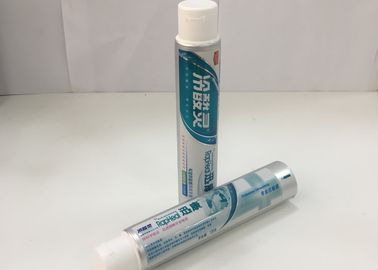 Aluminum Barrier Laminated Toothpaste Tube With Flip Top Cap , 275/12 Thichness