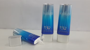 Flat Oval  Tube coating aluminum tube for BB and CC Cream,bright  twinkle Colorful Packaging tube
