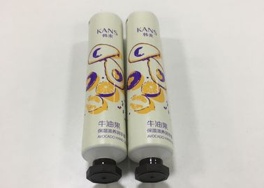 ABL375/9 Cosmetic Laminated Tube For Hand Cream With Small Octagonal Screw Cap