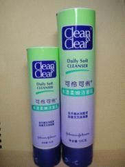 Plastic Cosmetic Tubes, Laminate Tube Packaging For Facial Cleanser, Skin Care
